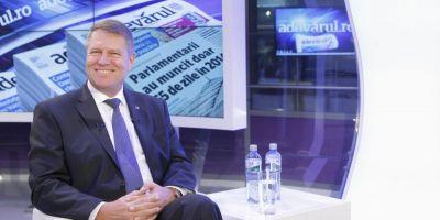 Ce spune Iohannis despre ordonanta lui Ponta privind plagiatul
