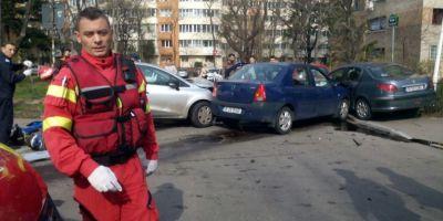 Accident rutier grav in Capitala: Patru persoane au fost ranite, doua sunt in stare critica