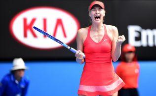 FOTO Sarapova nu plange dupa locul 2 WTA, cucerit de Simona Halep si s-a dezbracat pentru fanii din tara iubitului