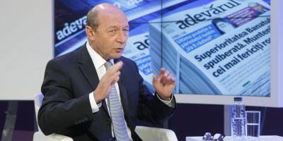 Traian Basescu nu va merge la sindrofia organizata de Tariceanu: Este un balci