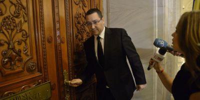 Victor Ponta, in topul chiulangiilor din Parlament