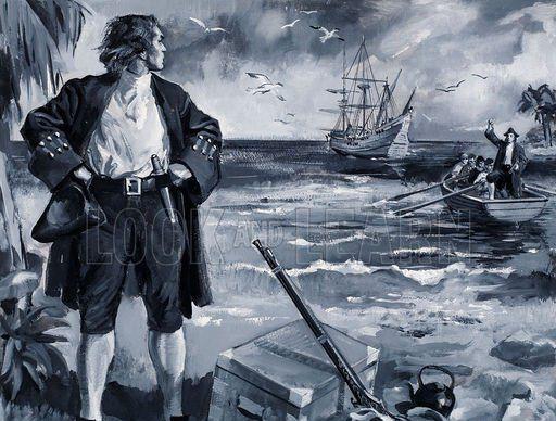 EXCLUSIV Povestea scotianului Alexander Selkirk, adevaratul Robinson Crusoe (FOTO)