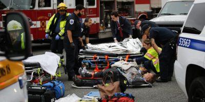 FOTO VIDEO Accident feroviar in SUA. Cel putin trei persoane au murit, iar 100 au fost ranite