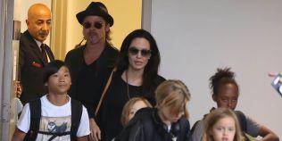 Angelina Jolie si Brad Pitt au inceput lupta pentru custodia celor sase copii