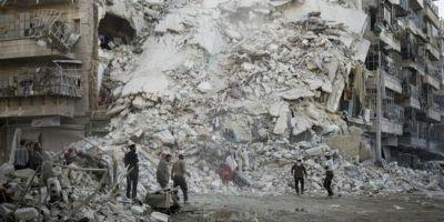 Bashar al-Assad isi face de cap la Alep, pe fondul unui vid de putere in lume: