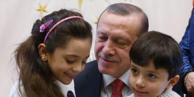 Micuta care a descris infernul din Alep a fost primita de presedintele turc Recep Tayyip Erdogan