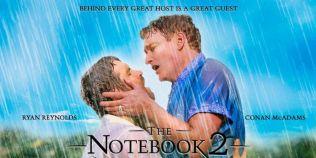 VIDEO Ryan Reynolds si realizatorul TV Conan O'Brien au recreat celebrul sarut in ploaie din
