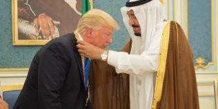 Donald Trump a primit cea mai inalta distinctie civila acordata de Arabia Saudita