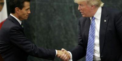 Trump a exercitat la telefon presiuni asupra presedintelui mexican pentru a nu spune public ca nu plateste zidul de la granita, dezvaluie Washington Post
