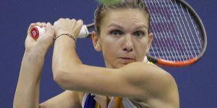 Simona Halep, infrangere cu Maria Sharapova, la capatul unui meci spectaculos, scor 4-6, 6-4, 3-6