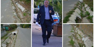 Romania lucrului prost facut: drum de 15 milioane de euro construit cu materiale second hand