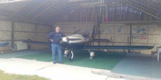 Un maramuresean pasionat de aviatie si-a facut aerodrom privat.