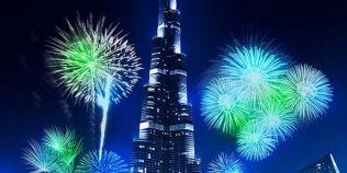 VIDEO Spectacolul de lumini si sunet de la trecerea dintre ani din Dubai a intrat in Cartea Recordurilor