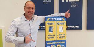 Ryanair introduce o regula noua pentru bagaje, din 15 ianuarie. Cu ce nu veti mai avea voie la bord