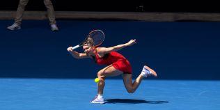 VIDEO Lovitura zilei la Australian Open i-a apartinut Simonei. Reactia comentatorilor spune totul