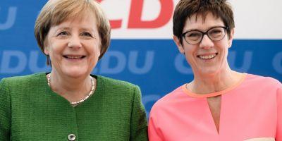 Angela Merkel incepe sa-si pregateasca succesiunea