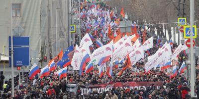 Opozitia rusa ii aduce un omagiu lui Boris Nemtov la trei ani de la asasinat